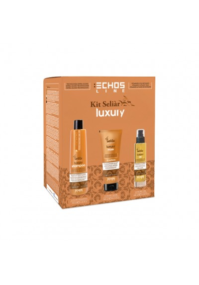 KIT DELIAR LUXURY (CH 350ml + MAS 300ml + OIL 100ml)