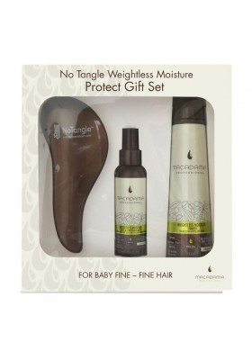 NO TANGLE WEIGHTLESS MOISTURE PROTECT GIFT SET