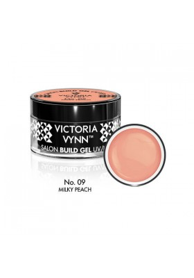 BUILD GEL UV-LED MILKY PEACH 09 15ML