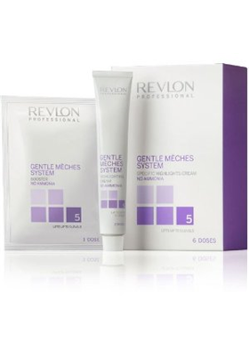 GENTLE MECHES SYSTEM 6 DOSIS REVLON