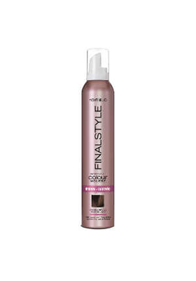 FINALSTYLE COLOUR MOUSSE BROWN CASTAÑO 320 ML