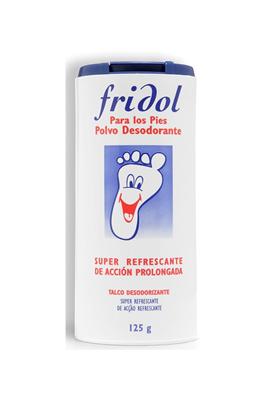 FRIDOL POLVOS PIES, 125 G