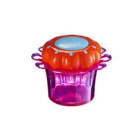 TANGLE TEEZER FLOWERPOT POPPING PURPLE