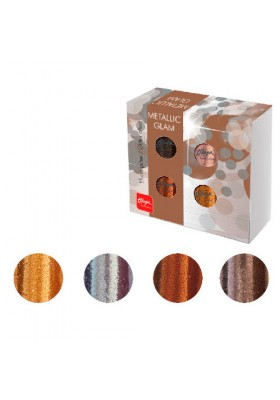 PACK METALLIC GLAM EFECTO GLITTER