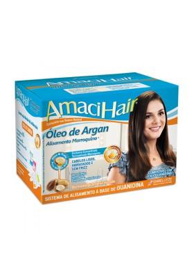 AMACIHAIR ACEITE DE ARGAN ALISADO KIT