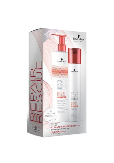 PACK BC CLEANSING COND. REPAIR RESCUE (SH 250ML + COND 500ML)