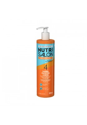 NUTRI SALON ARGAN OIL THERMAL PROTECTOR LEAVE IN (4) 500ML