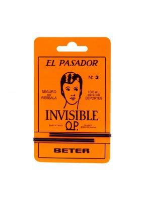 PASADOR INVISIBLE Nº3 NEGRO BETER