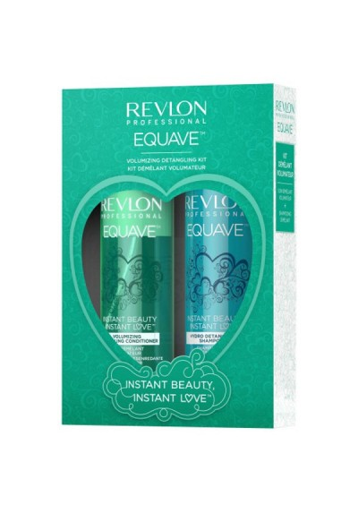 PACK INSTANT LOVE VOLUMIZING DETANGLING COND + CHAMPU