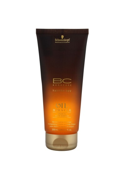 BC OIL MIRACLE ARGAN OIL CHAMPU 200ML