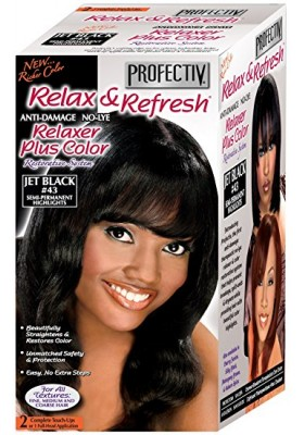 RELAXER PLUS COLOR JET BLACK 43