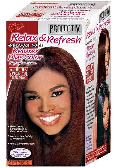 RELAXER PLUS COLOR AUBURN SPICE 31