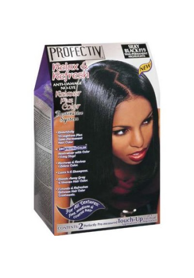 RELAXER PLUS COLOR SILKY BLACK 19