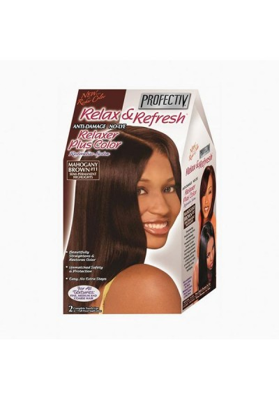 RELAXER PLUS MAHOGANY BROWN 11