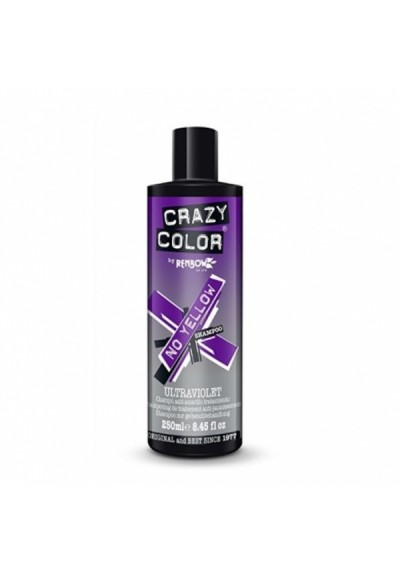CRAZY COLOR SHAMPOO ULTRAVIOLET NO YELLOW 250ML