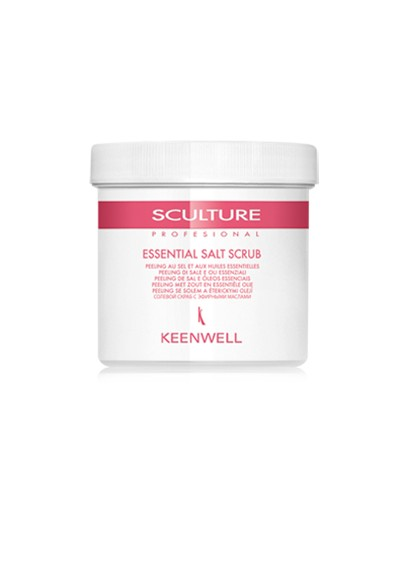ESSENTIAL SALT SCRUB 500 ML.