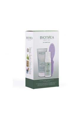 BYOTHEA SET PEDICURA ( HYDRA MOUSSE + SCRUB + LIMA)