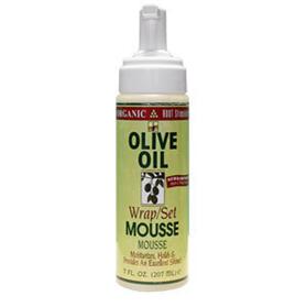 OLIVE OIL WRAP/SET MOUSSE 207ML