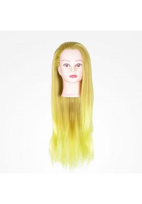 BIFULL CABEZA MANIQUI GIRL COLORFUL YELLOW - 60CM (AMARILLO)