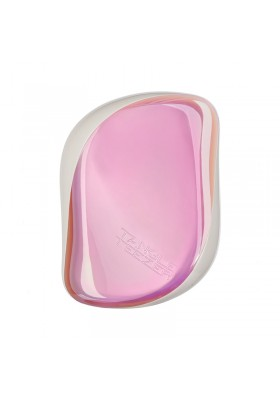 TANGLE TEEZER COMPACT STYLER PINK HOLOGRAPHIC