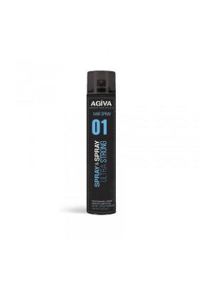 AGIVA HAIR STYLING SPRAY 01 400ML