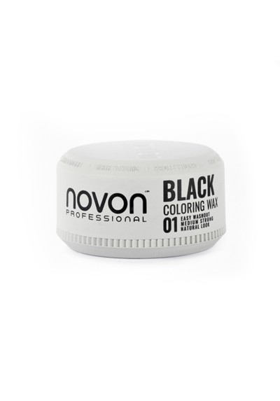 NOVON CERA COLOR NEGRO COLORING WAX BLACK 100ML