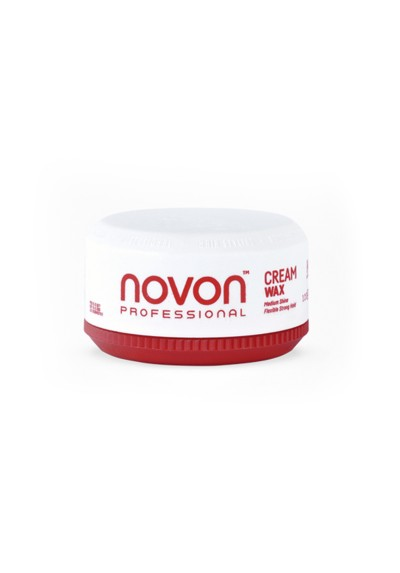 NOVON CERA EN CREMA FIJACION FUERTE FLEXIBLE Nº4 CREAM WAX 150ML