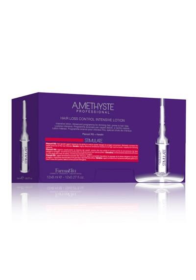 AMETHYSTE STIMULATE HAIR LOSS CONTROL INTENSIVE LOT. 12x8ml