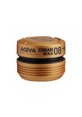 AGIVA CREAM WAX 08 POMADE - SHINE FINISH MEDIUM CONTROL 175ML