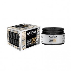 AGIVA HAIRPIGMENT WAX 02 COLOR BLACK 120G