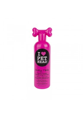 PET HEAD DIRTY TALK SHAMPOO 475ML YUMMY ORANGE