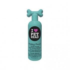 PET HEAD PUPPY FUN 475ML YUMMY ORANGE