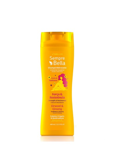 SEMPREBELLA STRENGHT AND RESISTANCE SHAMPOO 400ML