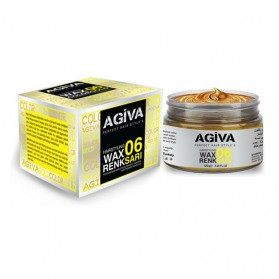 AGIVA HAIRPIGMENT WAX 06 COLOR GOLD 120G