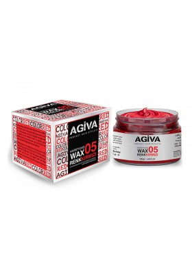 AGIVA HAIRPIGMENT WAX 05 COLOR RED 120G
