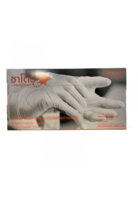 GUANTES LATEX POWDER FREE TALLA M 100 UNIDADES