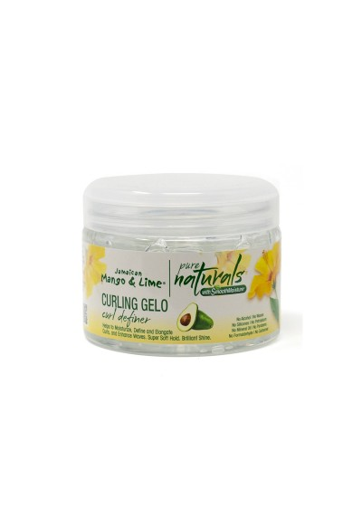 JAMAICAN MANGO & LIME PURE NATURALS COCONUT CURLING GELO 340G