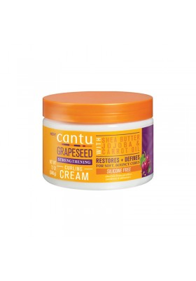 CANTU GRAPESEED STRENGTHENING CURLING CREAM 340G