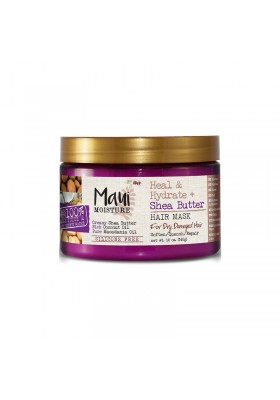 MAUI MOISTURE HEAL & HYDRATE + SHEA BUTTER HAIR MASK 340G