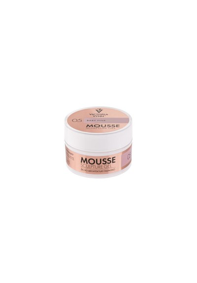 MOUSSE SCULPTURE GEL BABY PINK 05 50ML