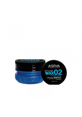 AGIVA HAIR STYLING WAX 02 STRONG TURQUOISE 90ML