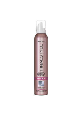 FINALSTYLE COLOUR MOUSSE SILVER 320 ML