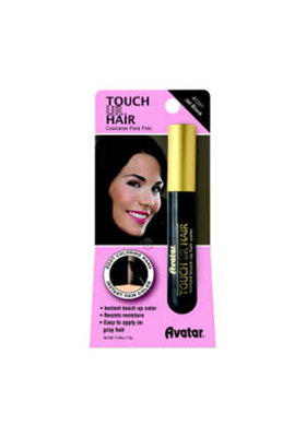 CUBRE CANAS HAIR JET BLACK