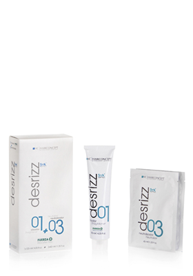 DESRIZZ 01 + 03 NEUTRALIZANTE RESISTENTES FUERZA 0 120+2x40 ml