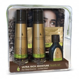 MACADAMIA ULTRA RICH MOISTURE TRAVEL KIT (OIL TREATMENT)