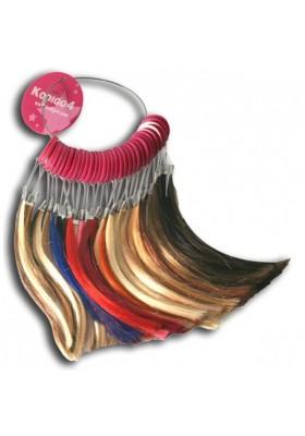 "Cabello ""Klip Hair"" 20 ud 45 cm -azul-"