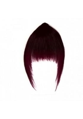 Flequillo Memory Hair -1B-BURT cast. muy oscuro - rojo violeta -
