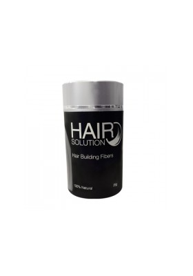 FIBRAS CAPILARES BLACK HAIR SOLUTION 25GR