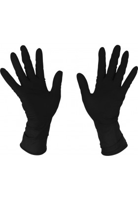 BIFULL GUANTES LATEX NEGROS 20 UDS